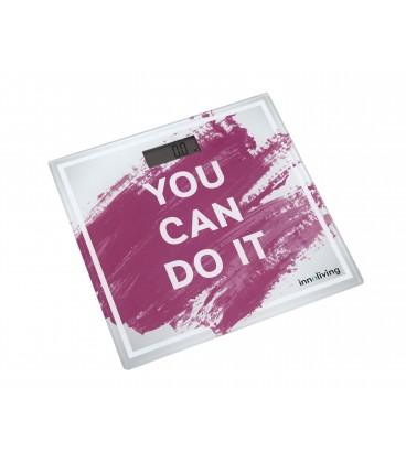 "BILANCIA PESAPERSONE ULTRASLIM "" YOU CAN DO IT"""